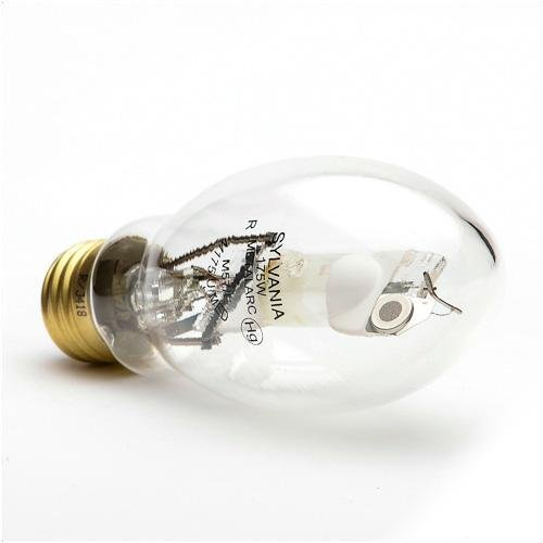 LEDVANCE METALARC M175/U/MED/64479 Compact HID Standard Metal Halide Lamp, 175 W, Metal Halide Lamp, E17 Shape