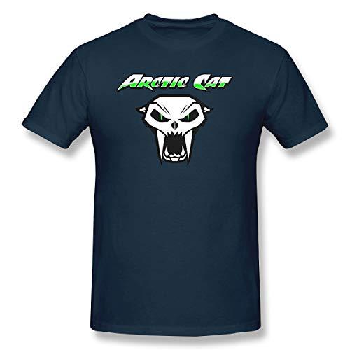 Lolo Shirt Cr Arctic Cat Cool Cat Logo Cotton Mens T Shirt Fashion Short Sleeves Man's T Shirts Navy