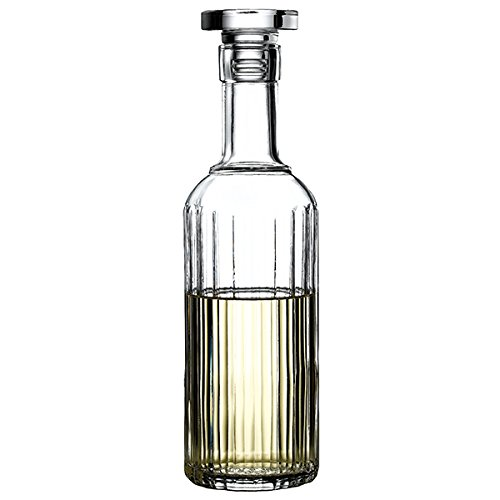 Bach Spirit Decanter 24.5oz / 700ml - Whisky Decanter, Vodka Decanter, Retro Decanter, Vintage Glass Bottles Luigi Bormioli