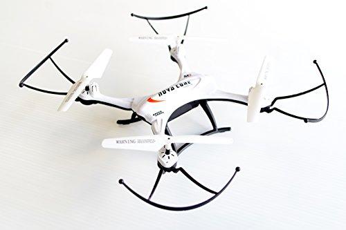 TPOS クアッドコプター ドローン ラジコン カメラ付き バッテリー付き 6軸ジャイロ 360度 3D宙返り機能 室内 屋外 スマホで操作可