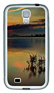 Case for Samsung Galaxy S4-Warm Sunset TPU Hard Plastic Case for Samsung Galaxy S4 / SIV/ I9500 - White