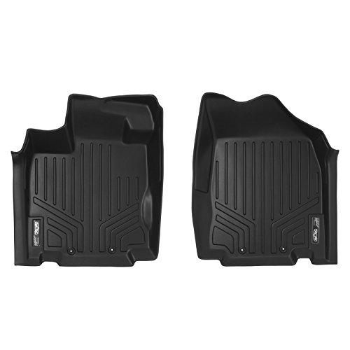 SMARTLINER Custom Floor Mats 1st Row Liner Set Black for 2013-2019 Nissan Pathfinder / 2013 Infiniti JX35 / 2014-2019 QX60