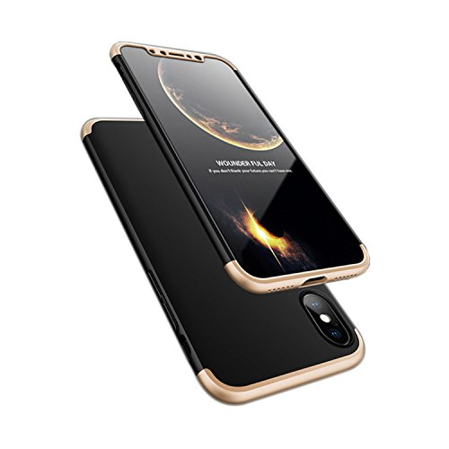 ATRAING iPhone X Case, Trading Ultra-Thin PC Hard Case Cover For Apple iPhone X - Model And Dolce Gabanna