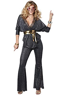 California Costumes Womens Disco Dazzler Costume