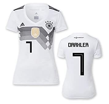 97bf15a07ff DFB 2018 women's home jersey top, Draxler 7, S: Amazon.co.uk: Sports ...