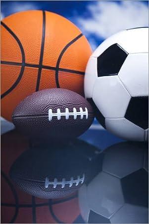 Posterlounge Alu Dibond 20 x 30 cm: Ball Sports di Editors Choice