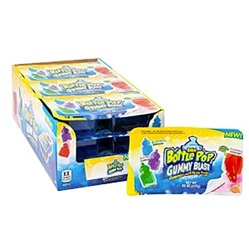 Bazooka Baby Bottle Pop Gummy Blast 2.1oz 9 Count