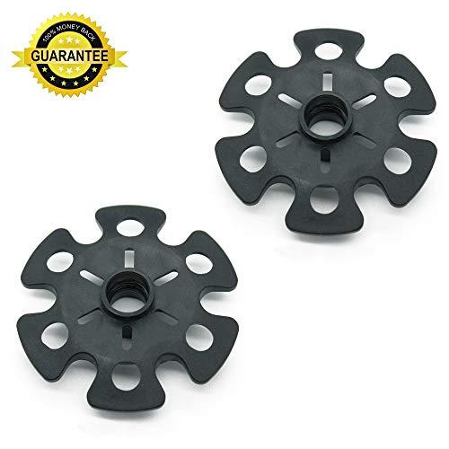Diamond Set Snowflake - Otrestodyl 2 Pieces/Set Durable Rubber Snowflake Disk Basket for Trekking Poles