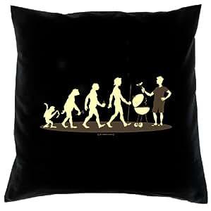 serigrafiado almohada–Diseño: Griller–Bonito regalo divertido sofá sofá cojín (Mama Papa Cumpleaños Navidad