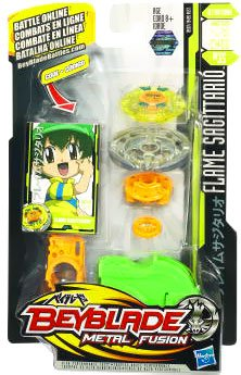 Beyblade Metal Fusion Battle Tops - Flame Sagittario (C145S)(BB-35) by Beyblade