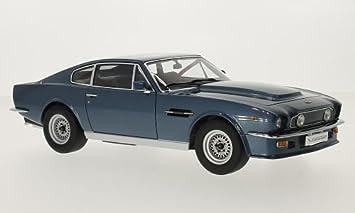 Aston Martin V8 Vantage Metallic Blau Rhd 1985 Modellauto Fertigmodell Autoart 1 18 Amazon De Spielzeug