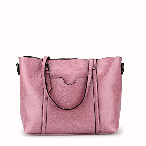 Tracolla Memoria Commuter Grande A Lady's Femminile Messenger Rosa Donne Delle Semplice Borse Borsa Grigio colore Handbag Totes Xuanbao qxzXdSpq