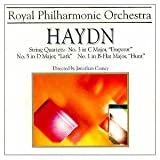 Haydn: String Quartets : No 1 in B flat op 1, No 3 in C op 76, No 5 in D op 64