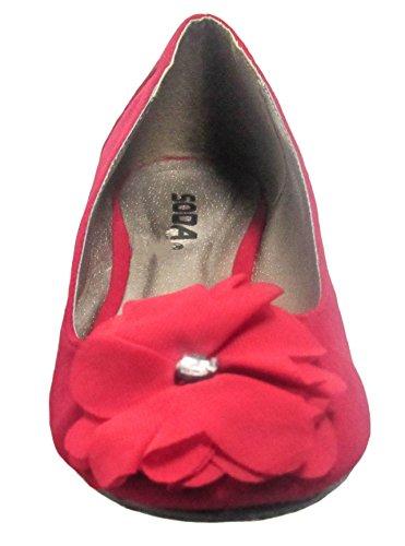 naren Womens Shoe s Flat Soda Liam Lipstick 5Fxwq