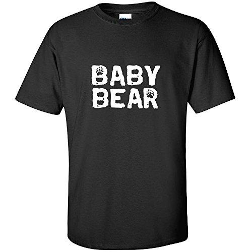 (BABY BEAR FUNNY KID SHIRT YOUTH T-SHIRT Black M)