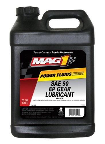 Mag 1 862 90W Gear Oil - 2.5 Gallon, (Pack of 2)