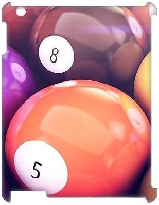 3d iPad 2,3,4 cases, Men Luxury Vintage bolas de billar casos para ...