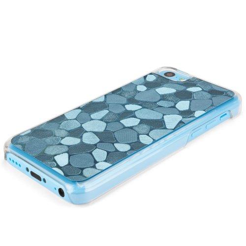 Apple iPhone 5C Housse BoxWave–Hybride Hard Case en plastique avec mosaïque en plastique Motif Mosaïque–Léger et durable Anti Excellente maniabilité pour Apple iPhone 5C (Turquoise) le
