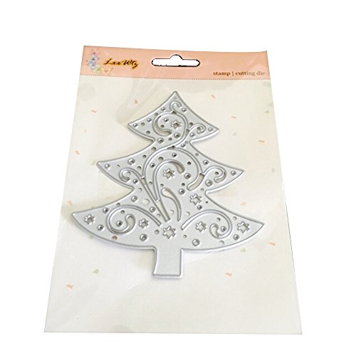 UIFIDI Cutting Dies Round with Pattern Embossing Stencils for Card Making]()