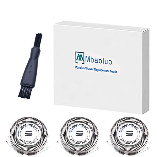 Mbaoluo HQ8 Dual Precision Replacement Heads for Philips Norelco Spectra 8800 Series, 7800 Series, 7100 Series, 7200 Series. Contains 3 Cutters and 3 Combs