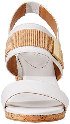 Sandal Platinum Calvin Women's Brandie Klein Wedge White IqqgPRUw