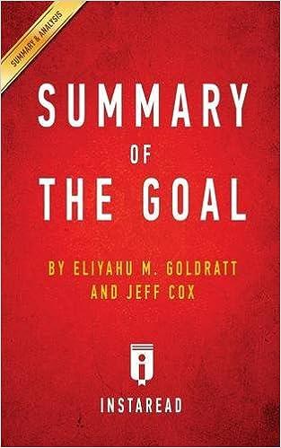 the goal book summary