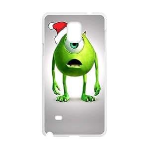Divertido Popeyes Navidad de la historieta Samsung Galaxy Note caja del teléfono celular 4 funda blanca del teléfono celular Funda Cubierta EEECBCAAJ71080