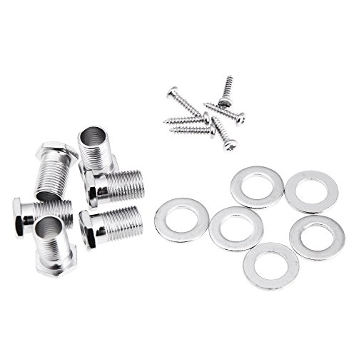 ammoon 3R 3L Chrome Electric Acoustic Guitar String Tuning Pegs Tuners Machine Heads by ammoon (Image #6)