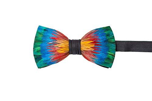 Brackish Feather Pre-tied Bow tie - Spectrum (156-BRK)