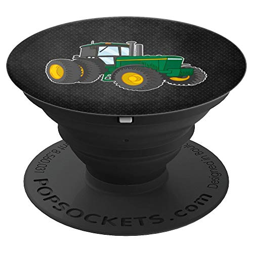 - Farm Green Tractor - PopSockets Grip and Stand for Phones and Tablets