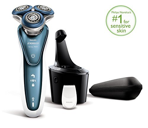 Philips Norelco Gentle Precision Aquatec Wet & Dry Electric Shaver & Beard Trimmer with Comfort Rings & Gentle Precision Blades For Sensitive Skin Review