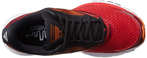 Brooks Launch 4, Scarpe da Corsa Uomo Rosso (Highriskred/Black/Orangepeel)
