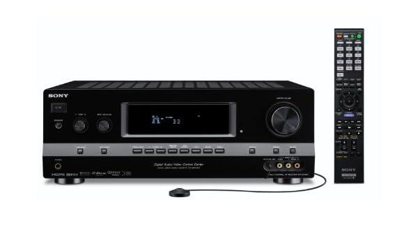 Sony STR-DH800 - Receptor AV (7.1, 1%, 8 Ohmio, Alámbrico, 240W, 0,3W) Negro: Amazon.es: Electrónica