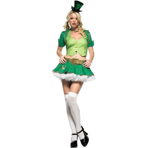 Adult Lucky Charm Costumes (Lucky Charm Adult Costume - X-Small)