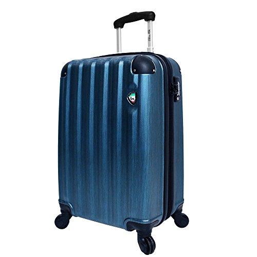 mia-toro-lega-spazzolato-hardside-25-inch-spinner-blue-one-size