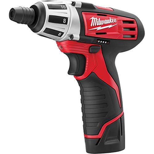 Milwaukee 2401-22 M12 12-Volt Lithium-Ion 1/4 in. Hex Screwdriver Kit
