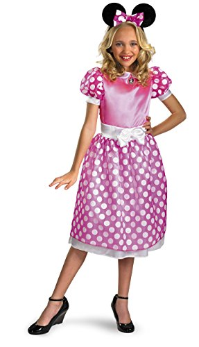 Best Affordable Halloween Costumes - Minnie Mouse Clubhouse Classic Girl's Costume - 7-8