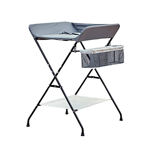 JYXZ Travel Cot Bassinet for Baby Kids with Swing Function, Summer Baby Crib