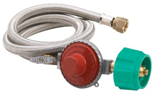 Regulator Psi Hose 1 - Bayou Classic M5HPR-1 10 PSI Hose/Regulator Valve Assembly