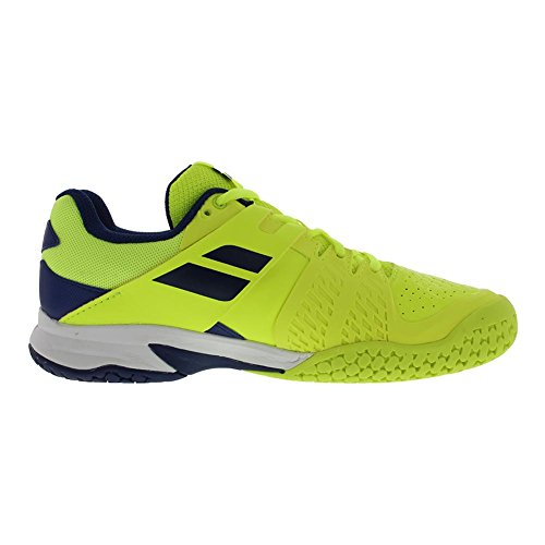 Shoes All Propulse and Kid's Yellow Blue Babolat Estate Fury Fluo Tennis Court Junior t0w11aq