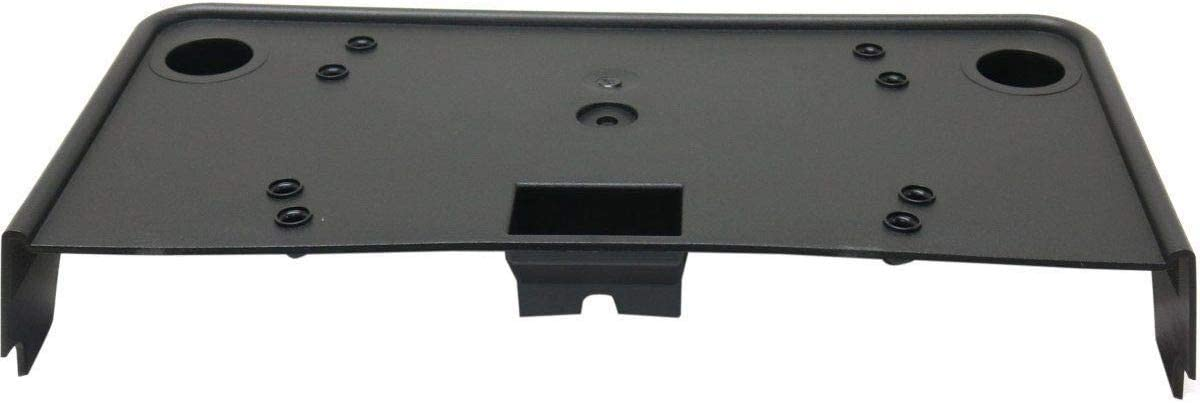 I-Match Auto Parts Front License Plate Bracket Tag Holder Replacement For 2015-2018 Lincoln MKC FO1068164 EJ7Z17A385C Black Textured