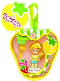 (Strawberry Shortcake Hasbro Mini Doll in Purse Lemon Meringue)