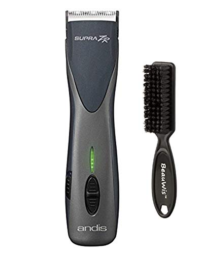 Andis Supra ZR Cordless Detachable Blade Clipper with a BeauWis Blade Brush Andis Beauty