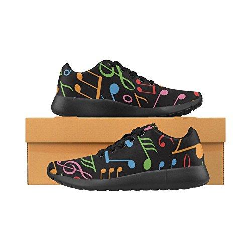 Interesse Per Le Donne Jogging Da Corsa Sneaker Leggero Go Easy Walking Sport Sportivo Scarpe Da Ginnastica Note Musicali