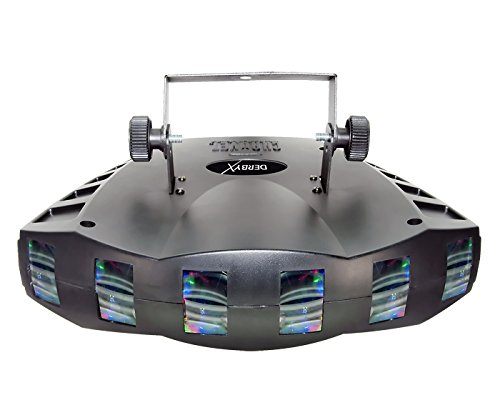 Led Derby Light (CHAUVET DJ Derby X RGB LED Derby w/Static, Blackout, Strobe Effect Light & Automated/Sound Active Programs)