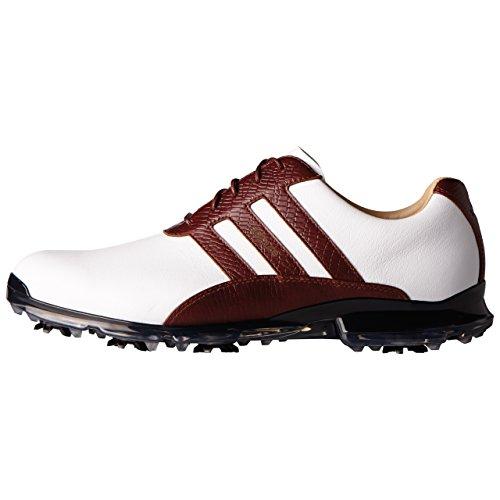 adidas Men's Adipure Classic Golf Shoe, White, 11.5 M US (Adidas Leather Adipure)