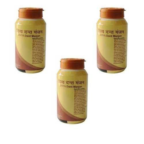 Patanjali Divya Dant Manjan 100 gm (Pack of 3)