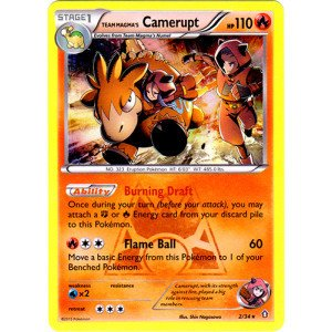 (Pokemon - Team Magma39;s Camerupt (2/34) - Double Crisis - Holo)