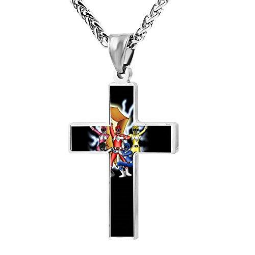 Kenlove87 Patriotic Cross Ranger Power Religious Lord'S Zinc