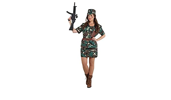 DISBACANAL Disfraz de Militar Mujer - -, M: Amazon.es: Juguetes y ...